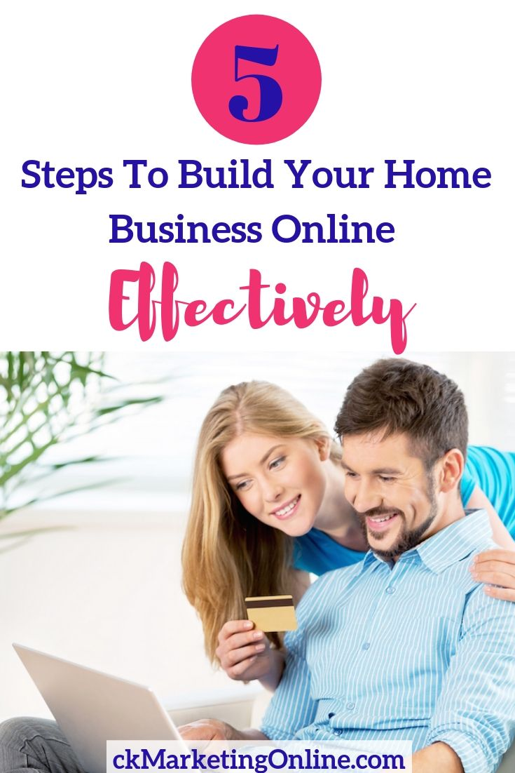How to build your home business online