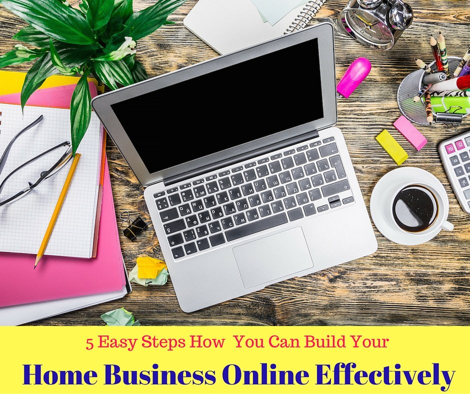 Build a home business online