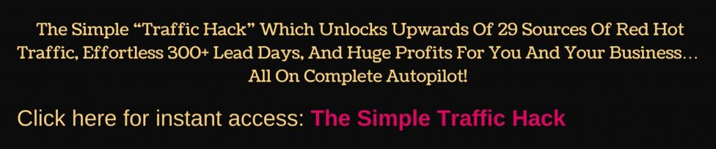Online Business Success - Simple Traffic Hack