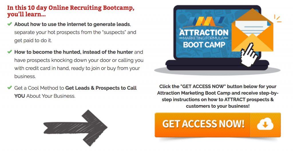 Attraction Marketing Formula