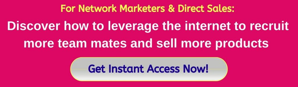 Network Marketing and Direct Sales
