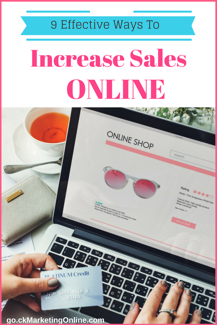 How To Increase Sales Online