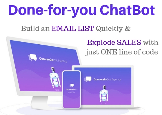 ChatBot to explode sales
