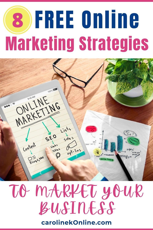 Free Online Marketing Strategies
